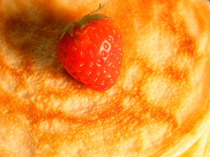 High-protein-pancake